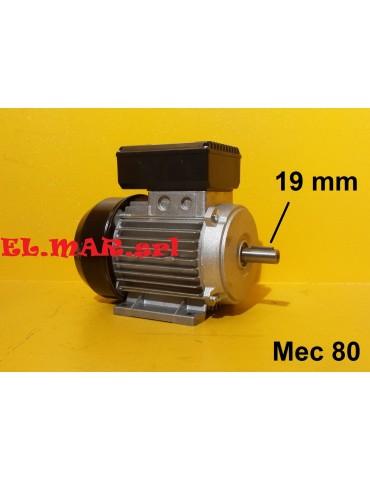 0,75 HP 0,55 KW Mec 80 1400...