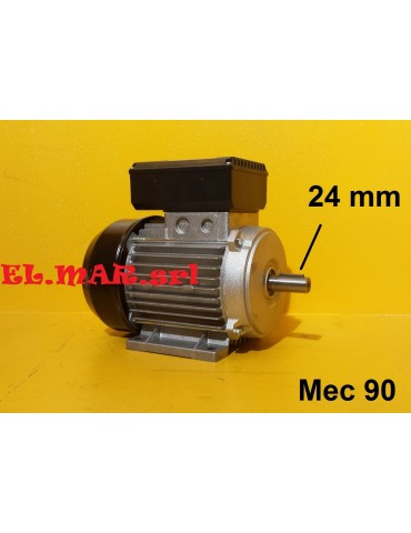 2 HP 1,5 KW Mec 80 2800 Giri Motore Monofase 2 Poli