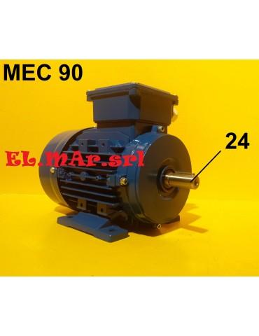 HP 2,3-1,7 KW 1,7-1,2 Mec...