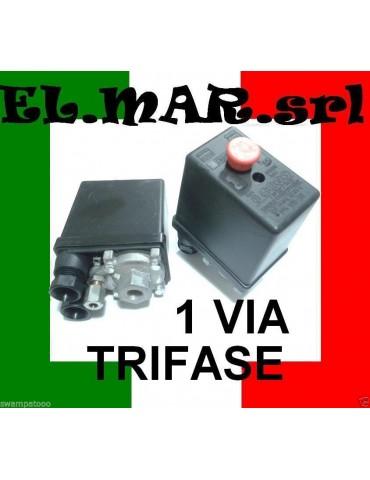 Pressostato Compressore Trifase1 via 12 BAR max