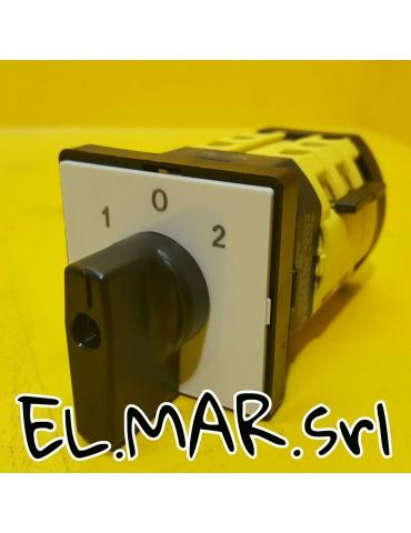 Interruttore Invertitore Motore Elettrico Monofase 16 - 20 - 25 A