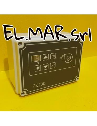 Regolatore Digitale 4.5 A x Motore / Ventilatore Monofase