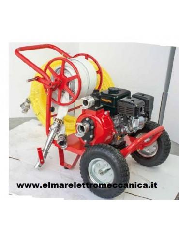 Motopompa Alta Prevalenza 6.5 HP Benzina Motore 4 Tempi Autoadescante LWP50