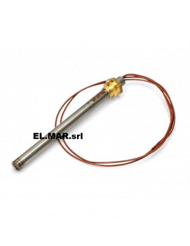 9,9 x 130 mm 270 W Resistenza Per Stufa A Pellet a Cartuccia