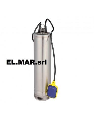Pompa Sommersa HP 1 KW 0.75 Monofase in acciaio Inox Multigirante