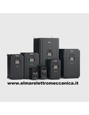 110 KW Inverter Vettoriale Trifase INVT GD20 - 110G - 4 EU x Motore Elettrico HP 150 Trifase
