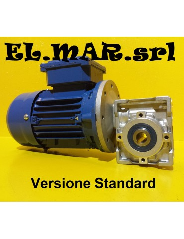 HP 0,25 KW 0,18 Motoriduttore Vite Senza Fine Monofase
