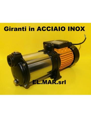 1 HP 0,75 KW MULTI EVINOX 20P-4M Elettropompa Centrifuga Multigirante Silenziosa Pompa GLONG Acciaio INOX
