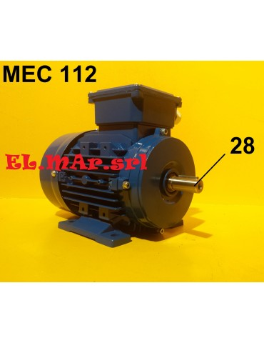 3 -1,5 KW Mec 112 1400/750...