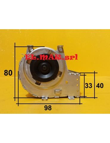 Ventilatore Tangenziale Motore Destro diametro 60 mm Ventola Singola Stufa a Pellet