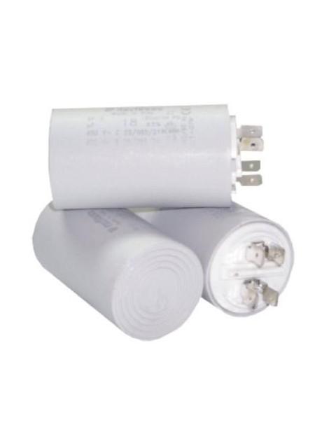 Condensatore Attacco Faston da 1 a 100 MF 400-450 V
