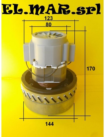 By-pass 1000 W motore aspirapolvere aspiraliquidi