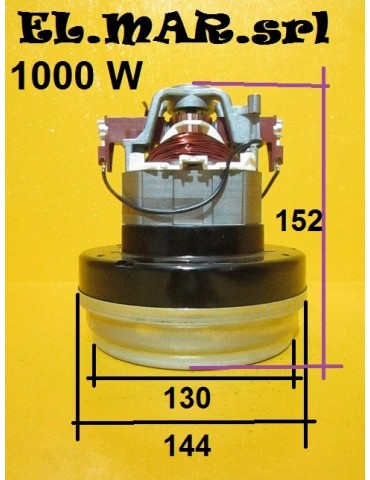 Motore Aspirapolvere 1000 W Bistadio 230 V Monofase