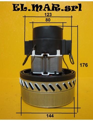 BY-PASS 1400 W Motore Bistadio aspirapolvere aspiraliquidi 230 V Monofase