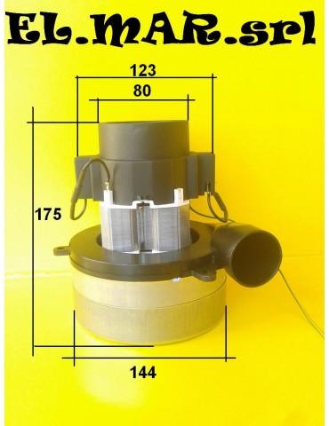 Tangenziale Bistadio 1000 W Motore aspirapolvere industriale 230 V Monofase