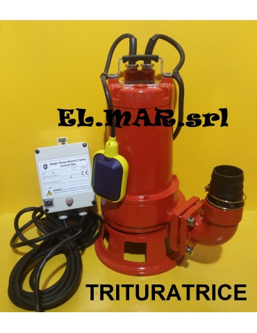 Pompa Sommersa Trituratrice HP 1 tritex 100A leporis