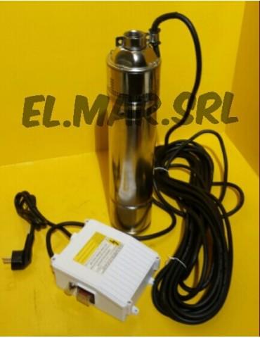 "Pompa Sommersa HP 1 KW 750 4"" Periferica Acciaio Inox Elettropompa"