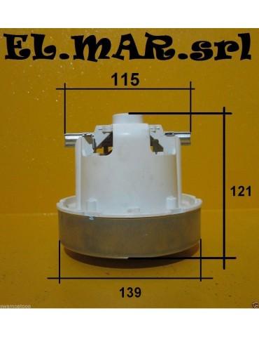Motore Aspirapolvere HS 1400 W Monostadio a Spazzole