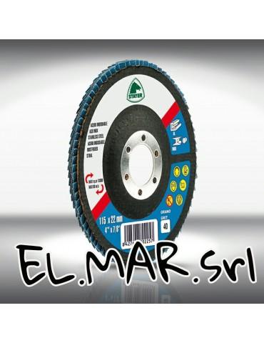 Stayer Disco Lamellare x Acciaio INOX allo Zirconio 115 mm